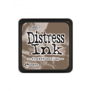 Mini Distress Frayed Burlap