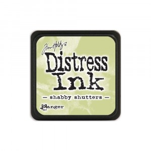 Mini Distress Shabby Shutters