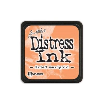 Mini Distress Dried Marigold