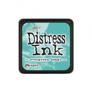 Mini Distress Evergreen Bough