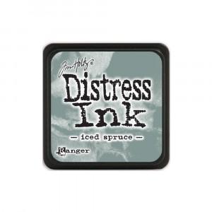 Mini Distress Iced Spruce