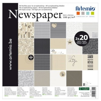 Bloc 30x30 Artemio Newspaper