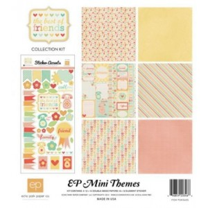 Kit 30x30 Echo Park Paper The Best Of Friends