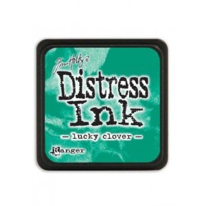 Mini Distress Lucky Clover