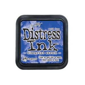 Mini Distress Blueprint Sketch