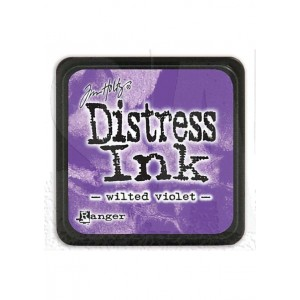 Mini Distress Wilted Violet