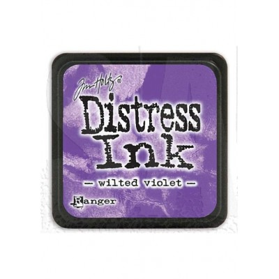 Mini Distress Wilted Violet