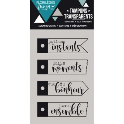 Tampon Quatre étiquettes