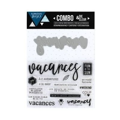 Combo Die&Clear Vacances