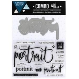 Combo Die&Clear Portrait