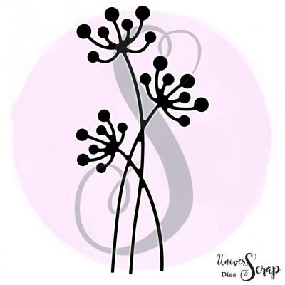 Dies 3 petites Dandelions entrelacées