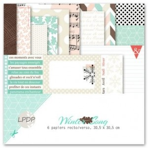 Les Papiers de Pandore kit 30x30 Winter Song