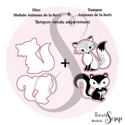 Dies Modulo animaux de la forêt