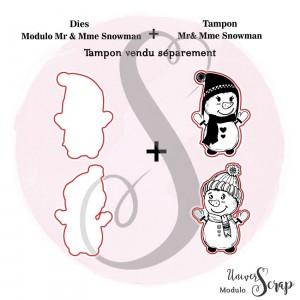 Dies Modulo Mr & Mme Snowman
