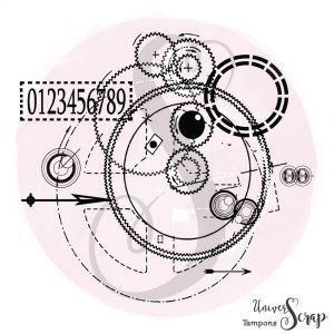 Tampon Cercle du temps
