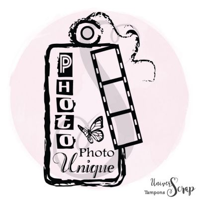 """Tampon Tag """"Photo unique"""""""