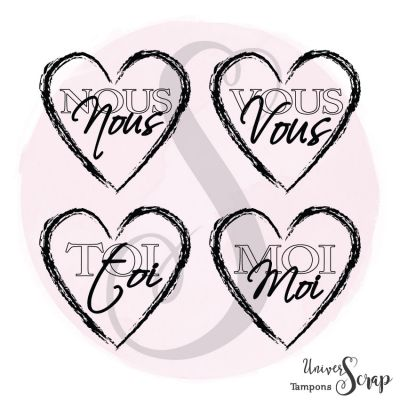 Tampon Coeurs : Vous, nous, toi, moi