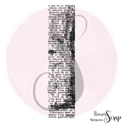 Tampon Ecriture grunge V.