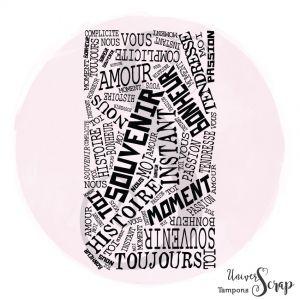 Tampon Mur de mots