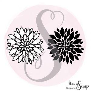 Tampon Fleurs Inversées