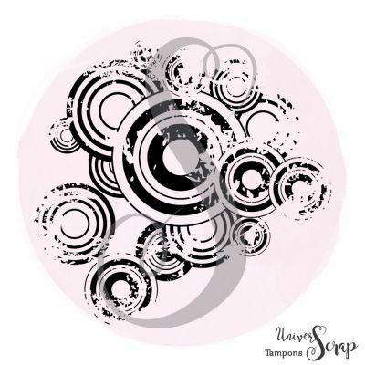Tampon Fond cercle rétro