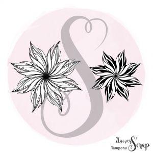 Tampon Duo de fleurs