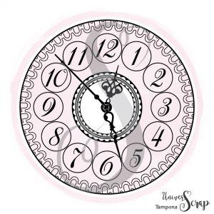 Tampon Petite horloge