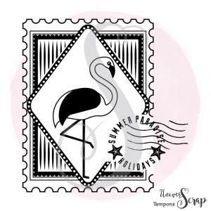 Tampon Timbre Flamingo