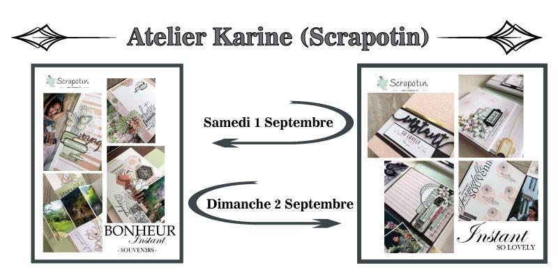 Atelier Karine scrapotin