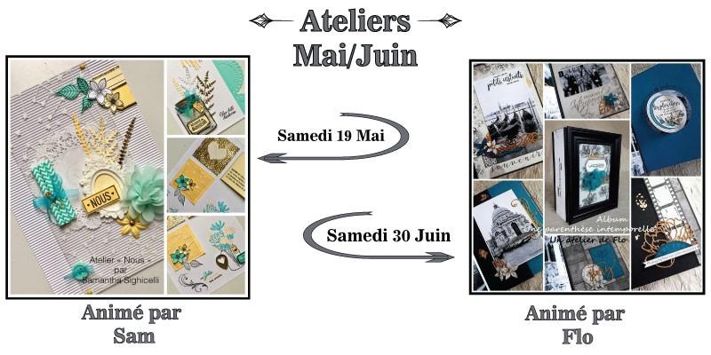 Ateliers Mai-Juin
