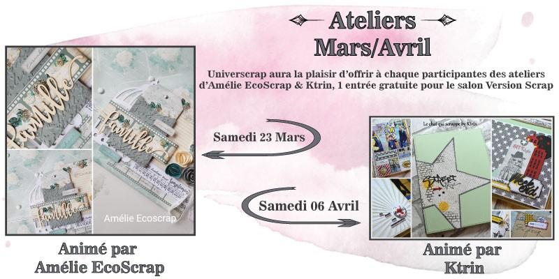 Ateliers Mars-Avril